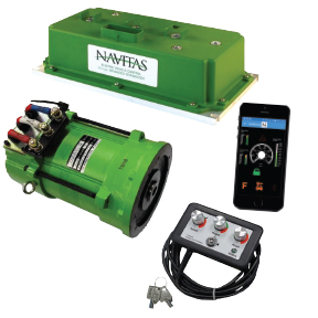 EZ GO TXT Navitas 48V DC To AC 600 AMP Conversion Kit