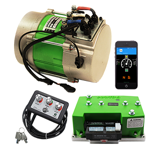 EZ-GO TXT Navitas 48V DC To AC 600 AMP Conversion Kit on